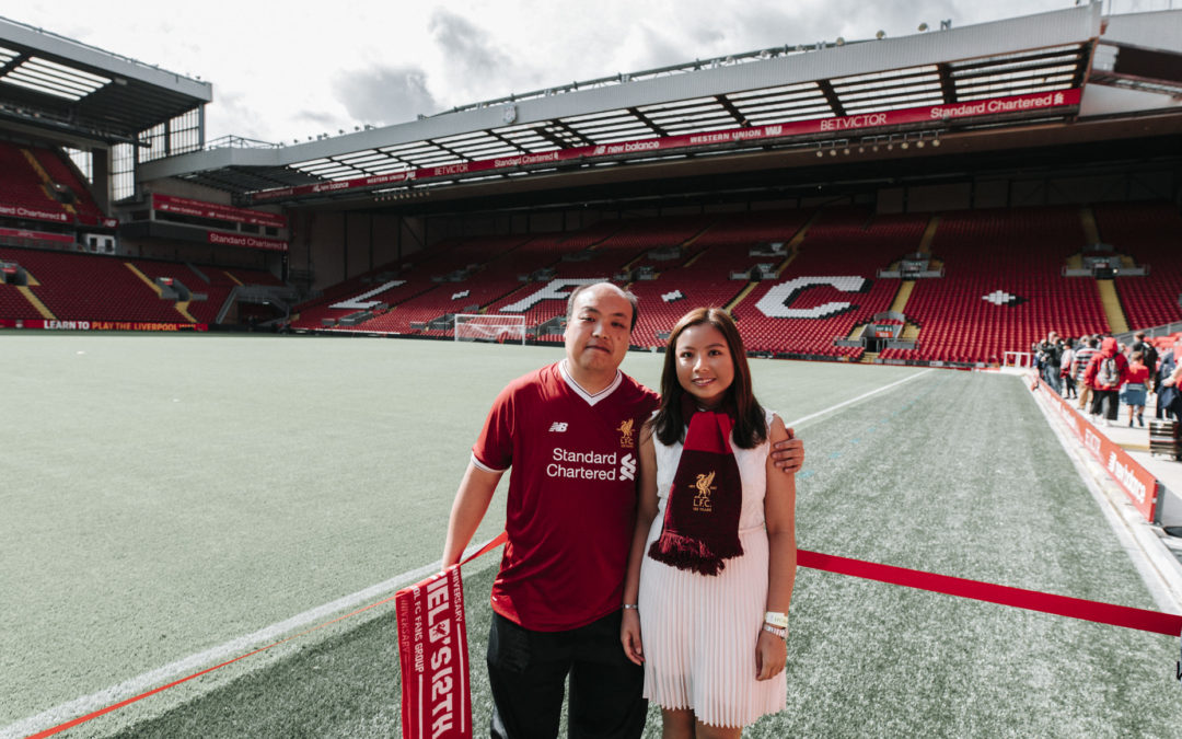 Liverpool FC Engagement Shoot