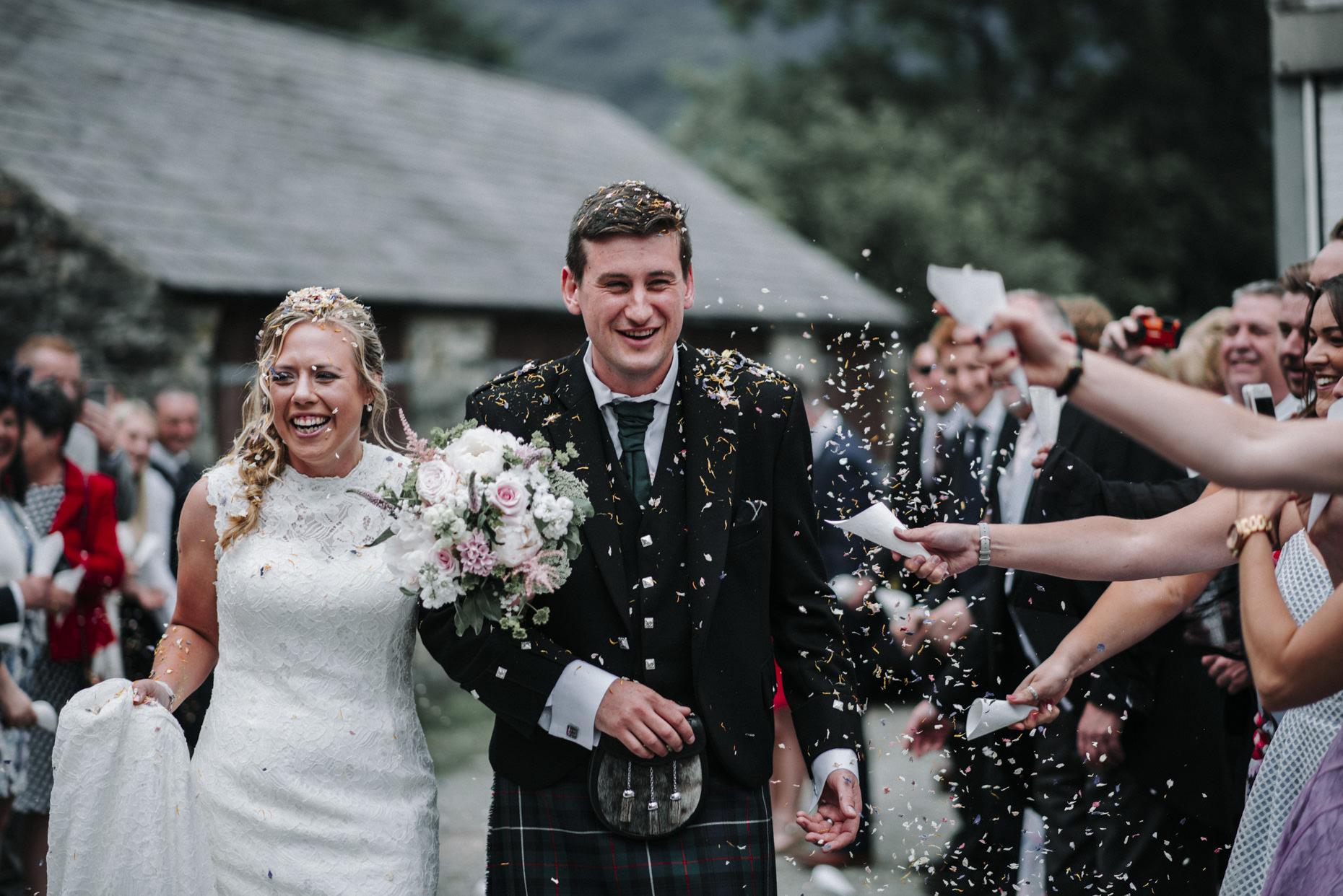 Llyn Gwynant Campsite Wedding