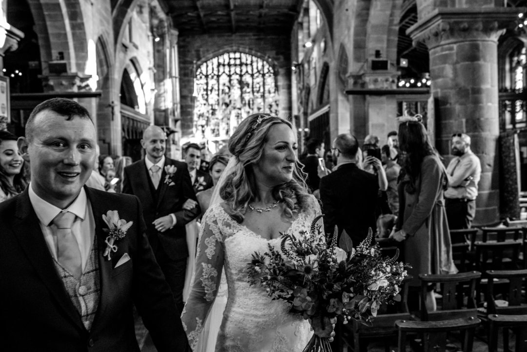 Fun laid back wedding at Pryors Hayes in Frodsham – Hannah and Mat